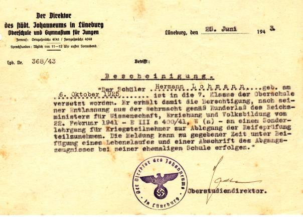 Briefe Nach Italien Dauer : Hermann lohmann spurensuche